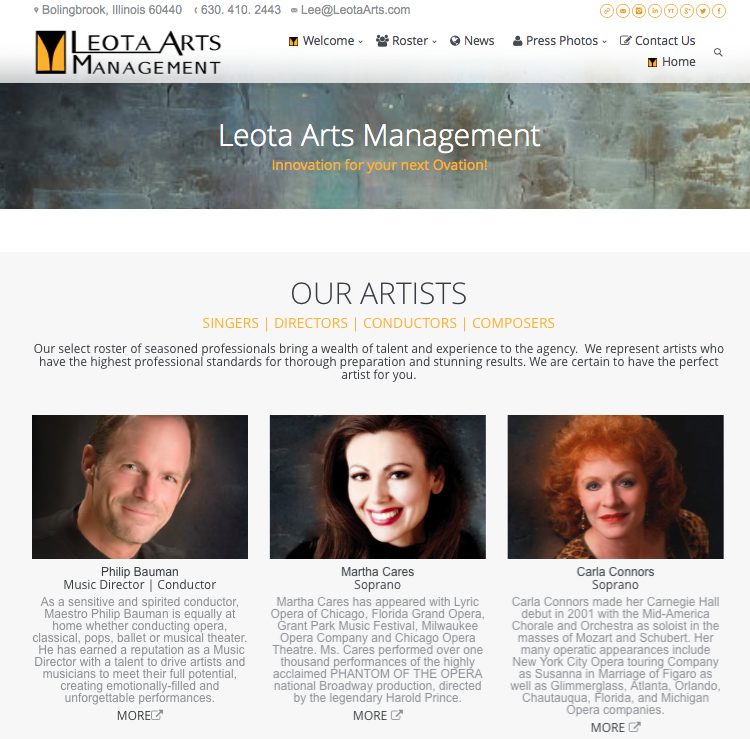 Leota Arts Management