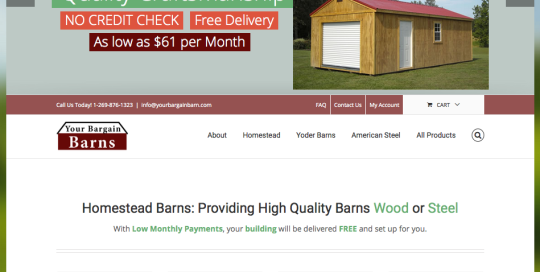 Your Bargain Barns -1