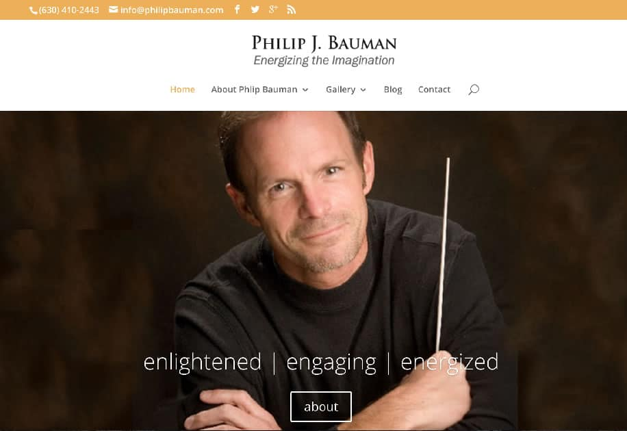 Philip J. Bauman - Home Page